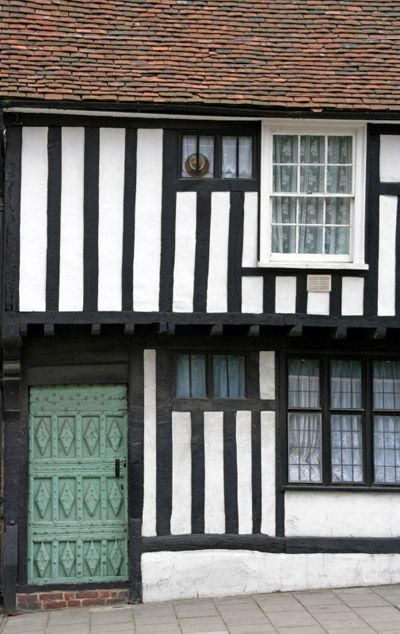 Tudor House in Colchester, Essex. UK
