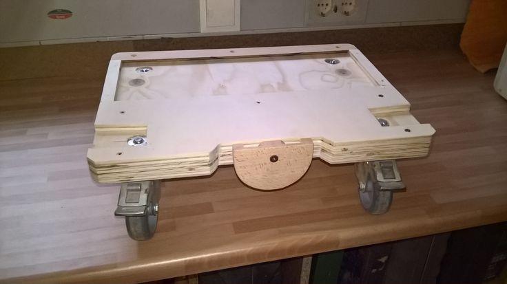 do it Yourself systainer trolley Eigenbau Rollbrett für T-Loc-Systems geeignet für Tandos und Festool systainer