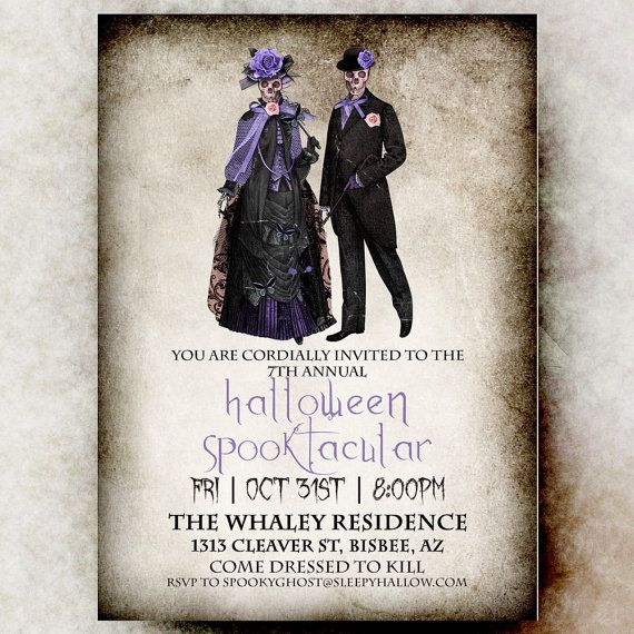 Best 25+ Adult Halloween Invitations Ideas Only On Pinterest
