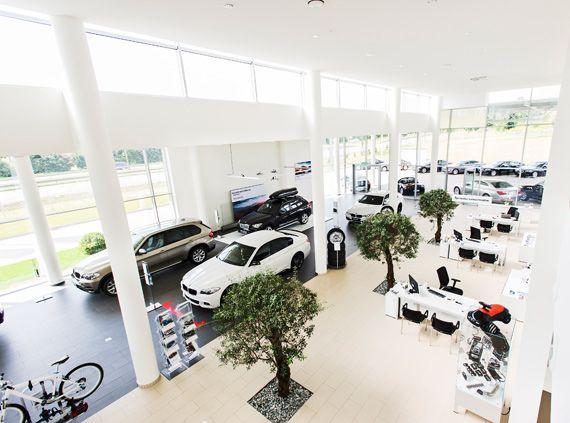 salon samochodowy Lubin