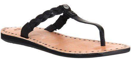 UGG Australia Bria Black Sandals Size: 6