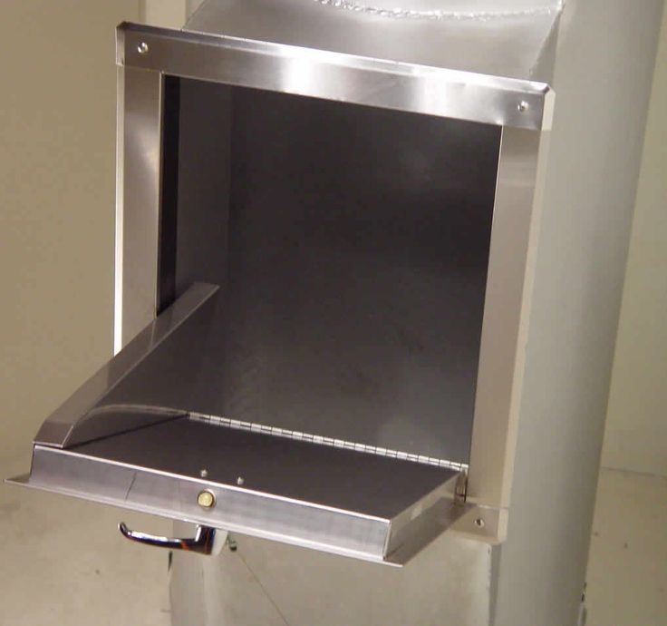 1000 images about trash chute on pinterest for Laundry chute design
