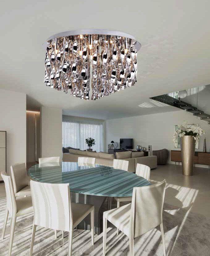Azzardo Plafon Jewel 70 - 810075-9 : Sklep internetowy Elektromag Lighting #modern #lighting #oświetlenie #homedesign #interiors