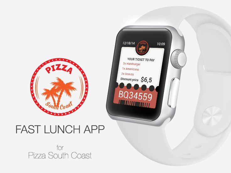 """Apple Watch App for """"Pizza South Coast"""""""