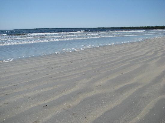 Summerville Beach, Queens County, Nova Scotia.  Beautiful white sand perfect for long walks!
