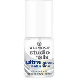Essence, Studio Nails, Ultra Gloss Nail Shine (Błyszczący lakier nawierzchniowy)