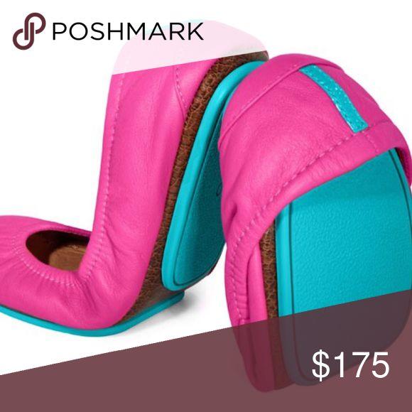 Tieks Fuchsia foldable ballet flats 🚫NOT FOR SALE YET🚫 Tieks Shoes