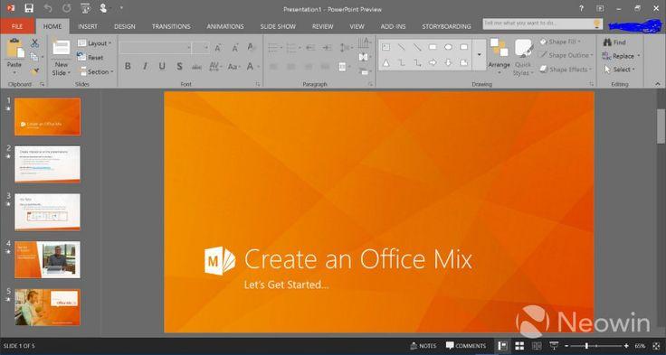 Office 2016 Screenshot Hints At UI Improvements http://www.ubergizmo.com/2015/02/office-2016-screenshot-hints-at-ui-improvements/