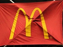 """""""Ex-McDonald's employee sues because she doesn't want her paycheck on a prepaid debit card -- The Chase card has a $1.50 ATM charge, a $5 charge for over-the-counter cash withdrawals, $1 per balance inquiry, and $.75 for online bill payment"""""""