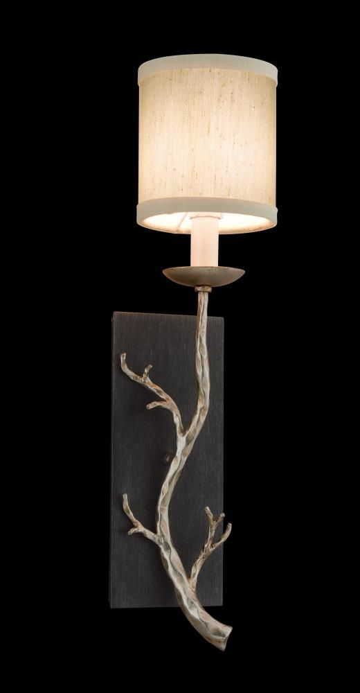 One Light Graphite And Silver Wall Light  HUFT | Butler Lighting & 109 best Cana Lighting images on Pinterest | Wrought iron Antique ... azcodes.com