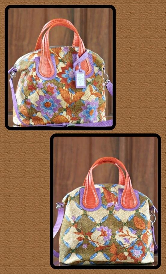 Batik bag by kunthi made from vintage batik semarangan... ❤