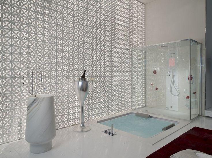 Download the catalogue and request prices of bathtub / turkish bath Amira wellness, Amira collection to manufacturer Brummel Cucine