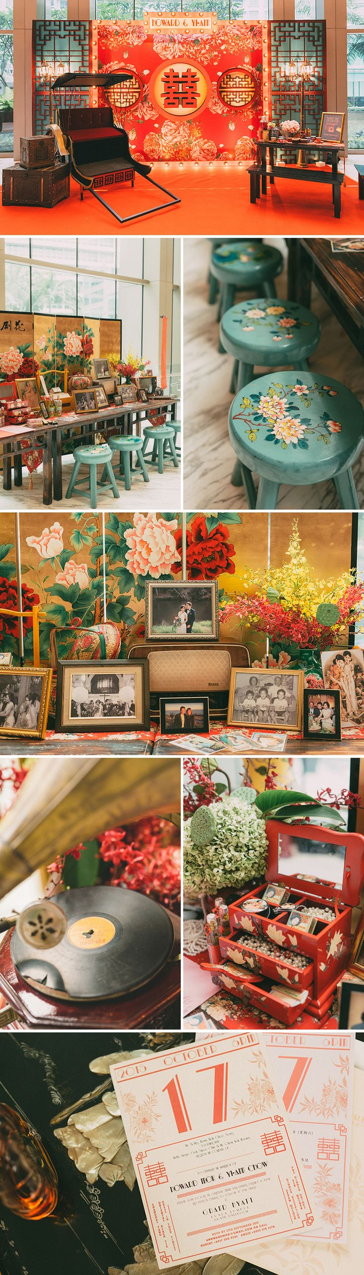 49 best red purple wedding images on pinterest chinese party old shanghai glamour howard and yi anns wedding at grand hyatt kuala lumpur junglespirit Gallery