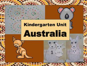 Kindergarten Unit: Australia