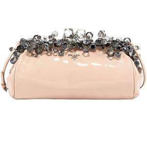 Prada nude crystal clutch   Acess¨®rios   Pinterest   Handbags ...