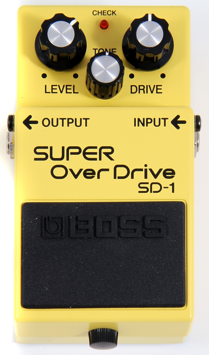 """Very clean """"tube style"""" overdrive. Not as crunchy as most distortion pedals."""