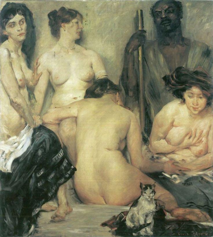 Lovis CorinthDer Harem, Artists Studios, Figures Art, Art Nude, Corinth Oil, Fine Art, Lovie Corinth, Oil Painting, Art Painting