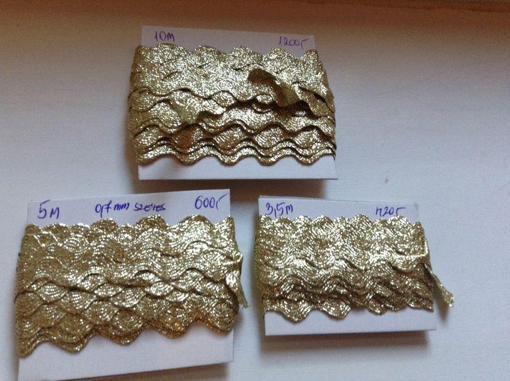 Óriás farkasfog 0,6 mm-es átmérő arany színben 5 m - 600 Ft 10 m - 1200 Ft
