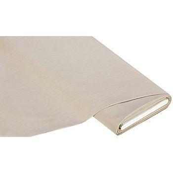 """Vielseitiger Baumwollstoff """"Lisa"""" in Leinwandbindung, durchgefärbt, Farbe: taupe, Breite: 150 cm, Gewicht: ca. 130 g/m². Einlaufwerte: min. 3 - 5 % in Breite und Länge. Material: 100 % Baumwolle.Der glatte, kräftigeBaumwollstoffist ein echtes Multitalent! Er lässt sich hervorragend für Heimtextilien und Deko-Ideen einsetzen wie Tischdecken oder -läufer, Kissenhüllen, Sitzauflagen..."""