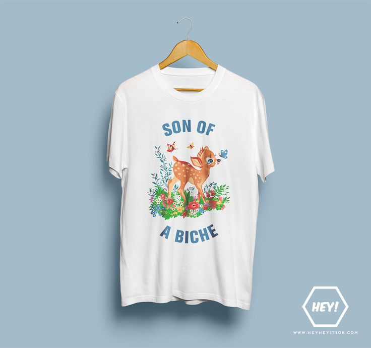 NEW NEW NEW Hey, si toi aussi tu veux ton tshirt SON OF A BICHE, une seule adresse dans ce bas monde : http://heyheyitsok.com/