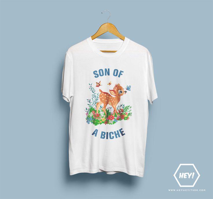 NEW NEW NEW Hey, si toi aussi tu veux ton tshirt SON OF A BICHE, une seule adresse dans ce bas monde : http://heyheyitsok.com/