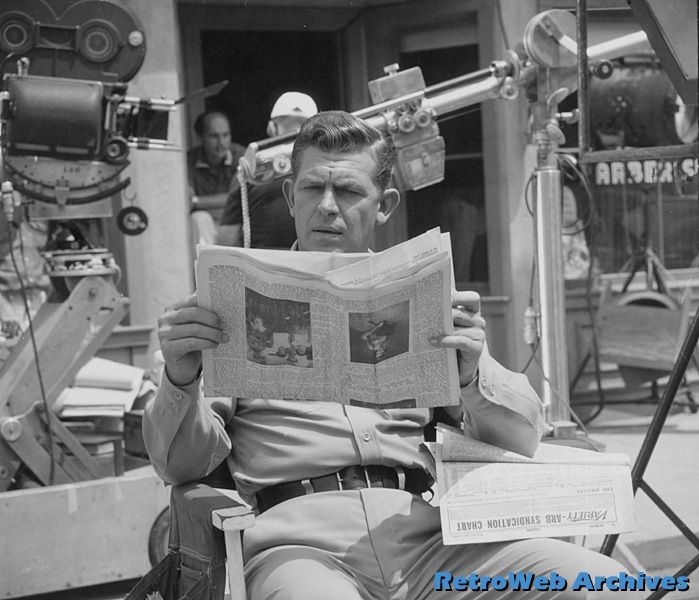 Desilu Studios Backlot | RetroWeb Classic Television: The Andy Griffith Show - A Behind-The ...