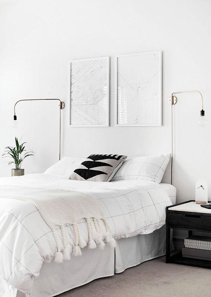 71 besten Sovrummet Bilder auf Pinterest Schlafzimmer, Wandfarben - schlafzimmer einrichtung nachttischlampe