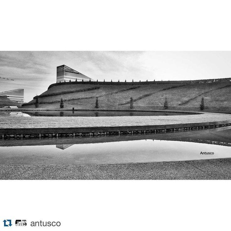 Grazie a @antusco per questa fotografia del Parco del Portello by milanostupenda