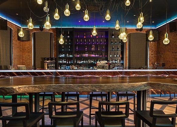 Interior, bar zone