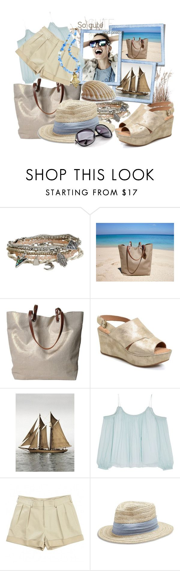 """""""Waves and sand"""" by tasha1973 ❤ liked on Polyvore featuring Aéropostale, Independent Reign, Børn, KAROLINA, Elizabeth and James, Chloé, Lucky Brand and Pembe Club"""