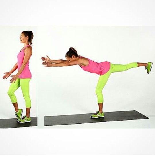 Arka bacak,kalça ve bel kasını çalıştıran bir egzersiz.