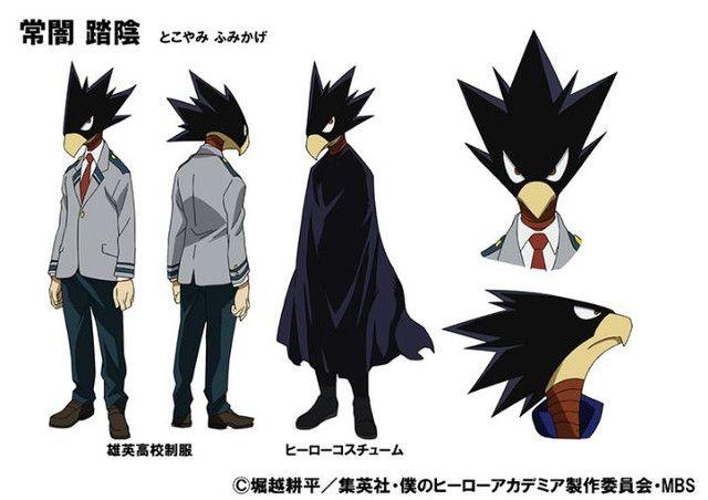 Yoshimasa Hosoya tras la voz de Fumikage Tokoyami en el anime Boku no Hero Academia
