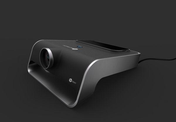 Envy Eyes   Video projector   HP by Elie Ahovi, via Behance