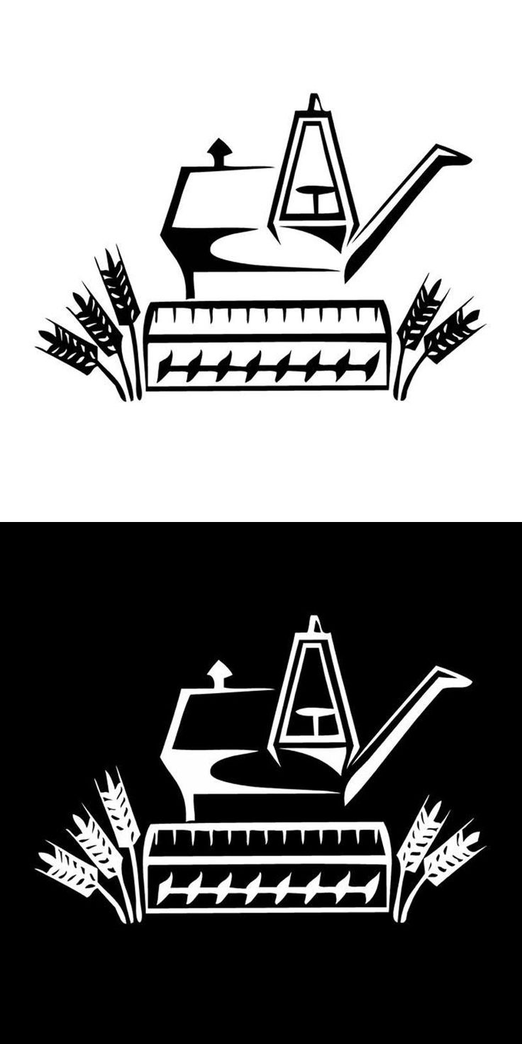 [Visit to Buy] 16.2cm*11.1cm Tractor Farming Vinyl Car-Styling Stickers Decals Motorcycle Black/Silver S3-6684 #Advertisement