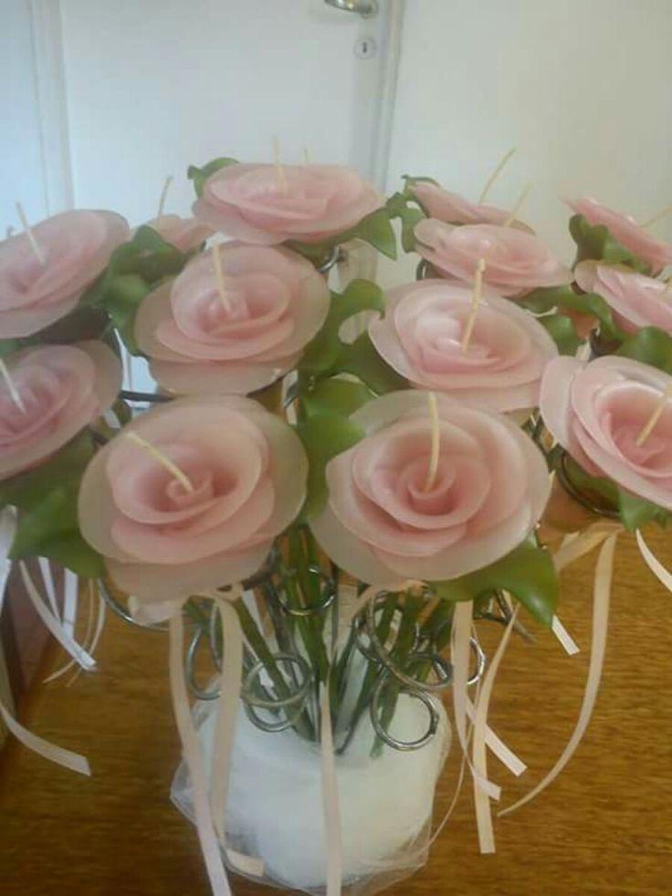 Ceremonia De Velas Para 15 Años - Rosas- - $ 360,00 en Mercado Libre