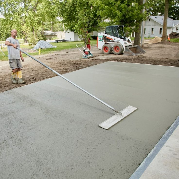 how much to get a concrete slab poured