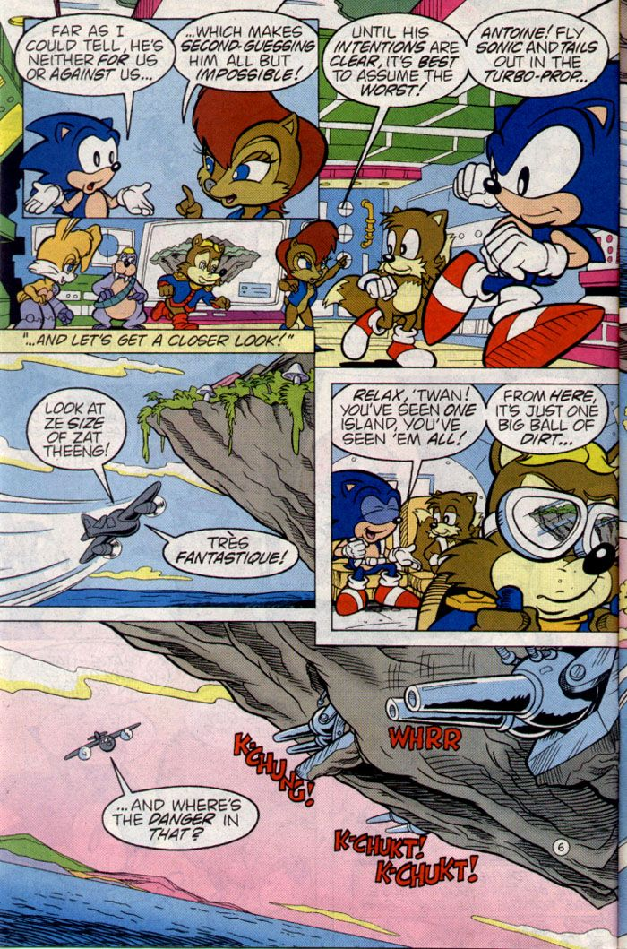 Sonic & Knuckles Special Full - Read Sonic & Knuckles Special Full comic online in high quality