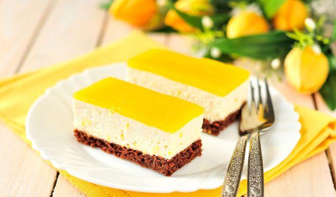 Cremiger Low Carb Orangen-Mascarpone-Kuchen