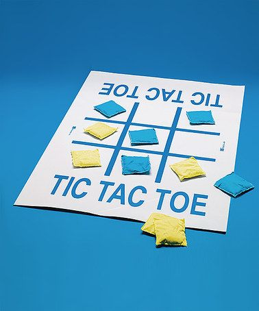 Look at this #zulilyfind! Tic-Tac-Toe Toss Game #zulilyfinds