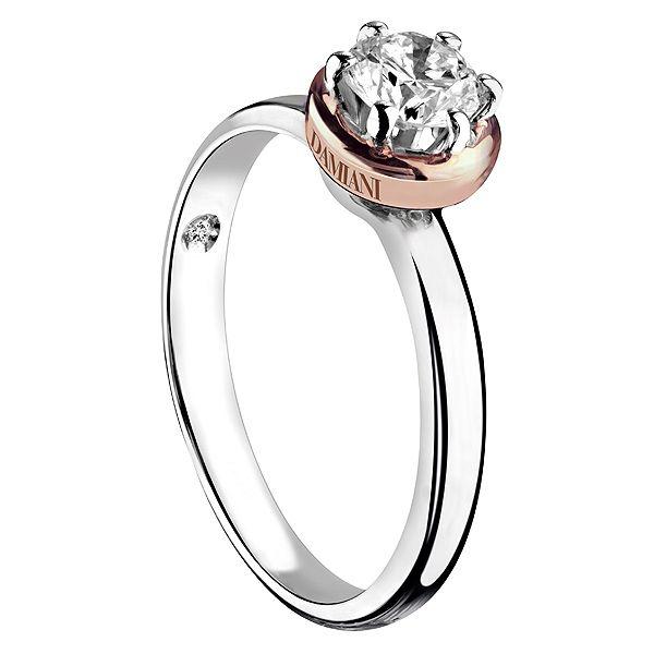 クイーン - DAMIANI(ダミアーニ)の婚約指輪(エンゲージメントリング)