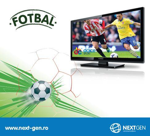 Fotbalul de calitate se vede in direct, la Dolce Sport!