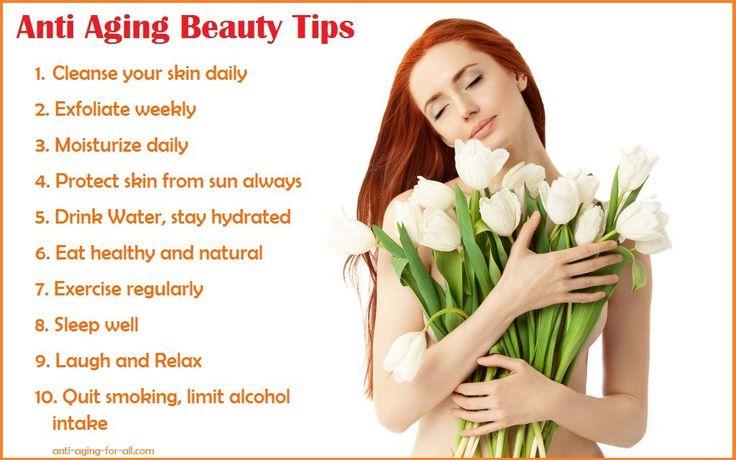 Anti Aging Beauty Tips