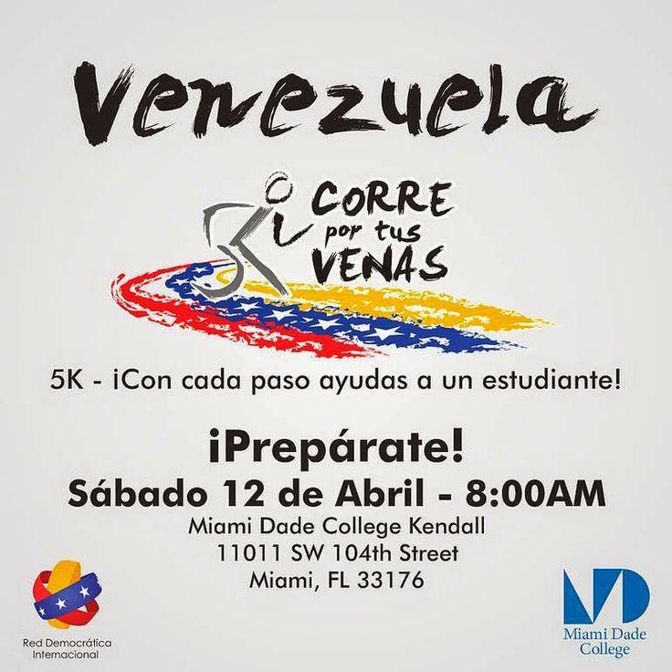 """Notas de Cira: Carrera 5K """"Venezuela corre por tus Venas"""""""