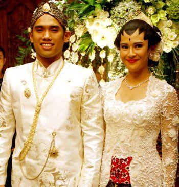 'Jogja Putri' make up in Dian Sastro wedding, Indonesian Actress