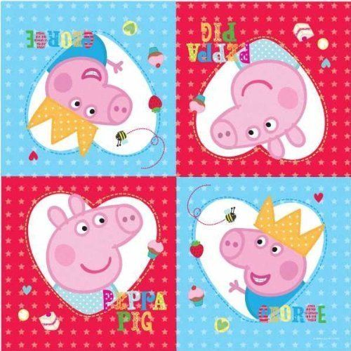 Peppa Pig Party Time Napkins 16pk by Party Bags 2 Go, http://www.amazon.co.uk/dp/B00CS64B2C/ref=cm_sw_r_pi_dp_7xO2sb180E6CA