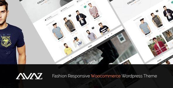 ThemeForest - Avaz - Fashion Responsive WooCommerce Wordpress Theme Free Download