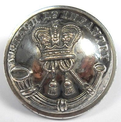 Armagh Light Infantry button