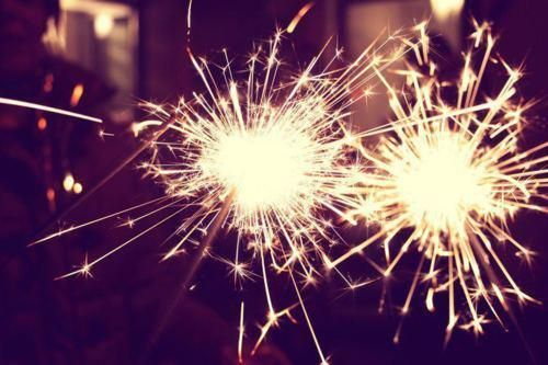 Sparklers #myAW13 and #next.