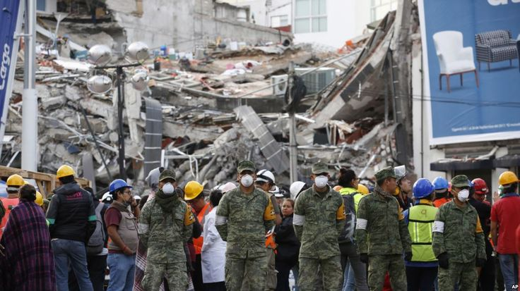 Astrong earthquake struck southern Mexico on Saturday morning, the third major earthquake tohit the country this month, according to theU.S. Geological Survey. The magnitude 6.1 tremor struck 12 miles southeast ofthe town of Matias Romero just before 8 a.m., a town in the southern Mexican state of Oaxaca where a more powerful magnitude 8.1 earthquake hit on Sept. 7, leaving at least 90 people dead. On Tuesday, a 7.1-magnitude earthquake struck the region, killing more than 295 and dea...