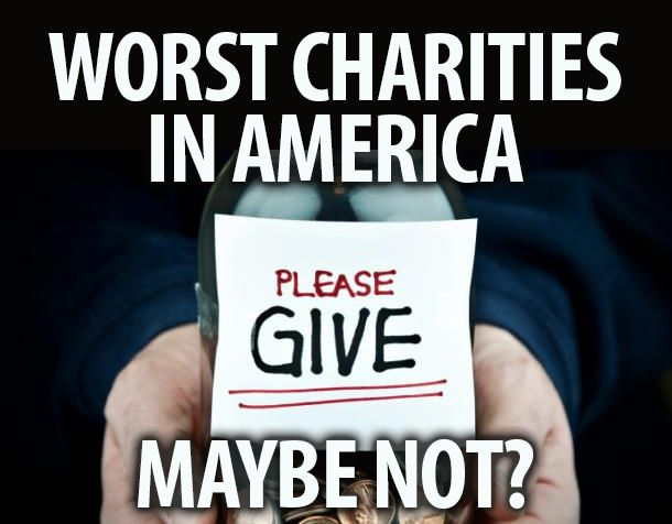 Image result for america's worst charity